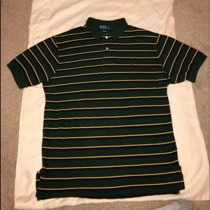 Polo by Ralph Lauren. Very nice pinstripe piece!
